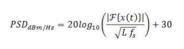 PSD equation