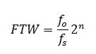 ftw equation