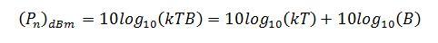 noise-floor-equation