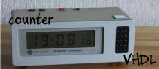 VHDL Counter